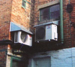 Klimaanlagen, außen