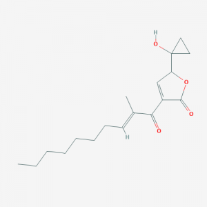 Strukturformel Malleicyprol